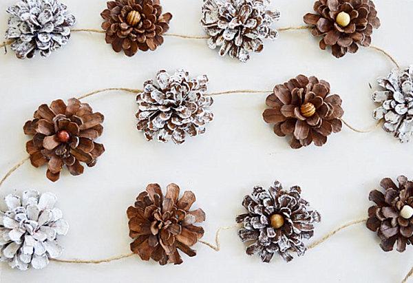 šišky DIY-pine-cone-garland